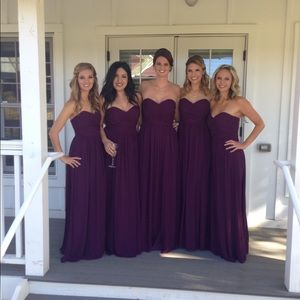 Jenny Yoo Convertible Chiffon Bridesmaid Dress